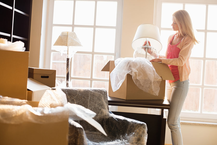 Moving with only a few items can be accommodated by local movers