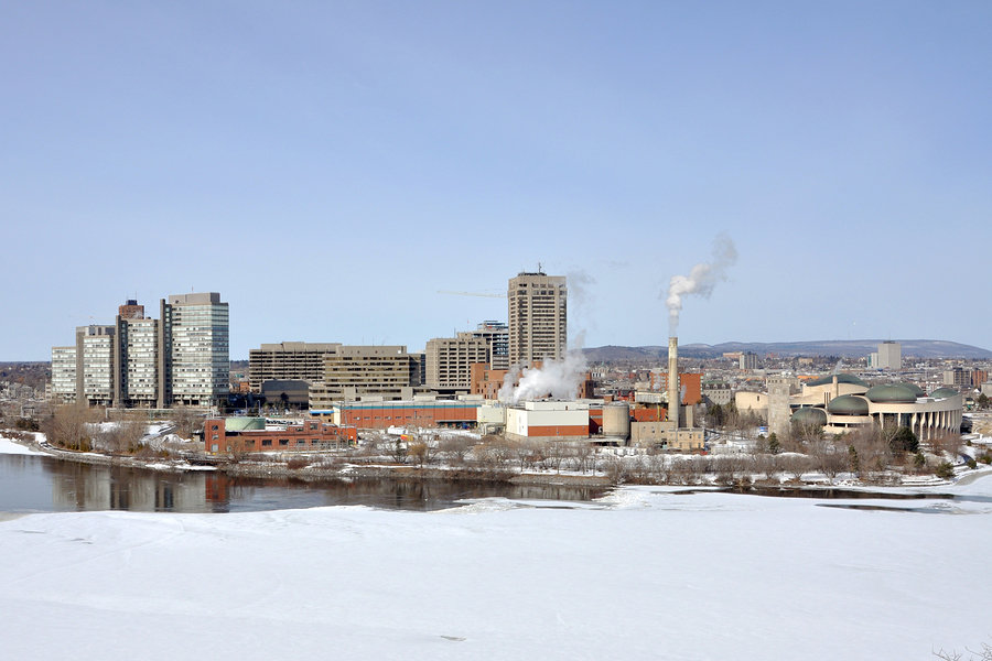 Place du Portage in Gatineau – biggest office complex in the Outaouais region