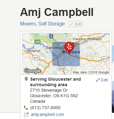 AMJ Campbell – Location