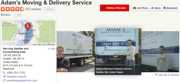 Adam's Moving Services