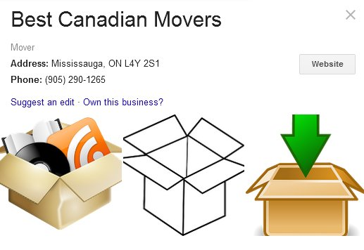 Best Canadian Movers - Location