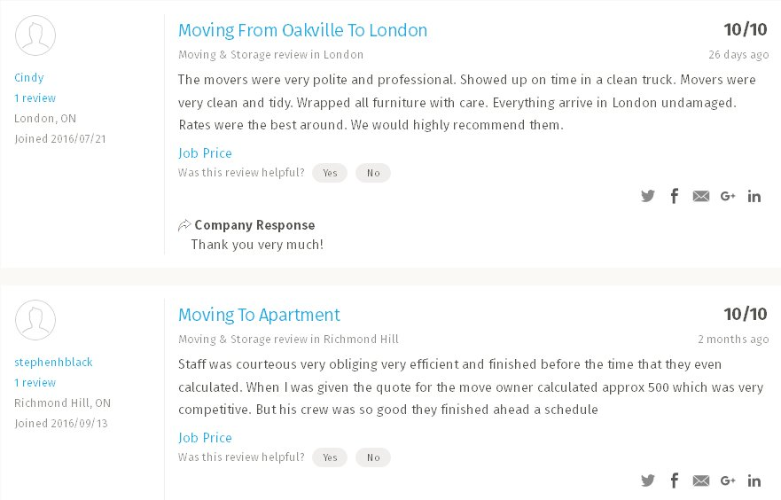 Best Way to Move - moving reviews