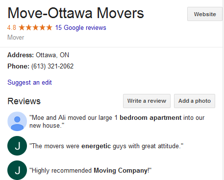 Move Ottawa - Location