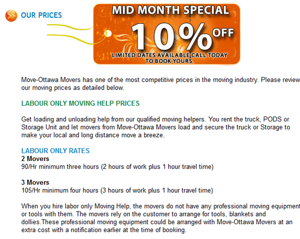 Move-Ottawa-Movers-Published-Rates