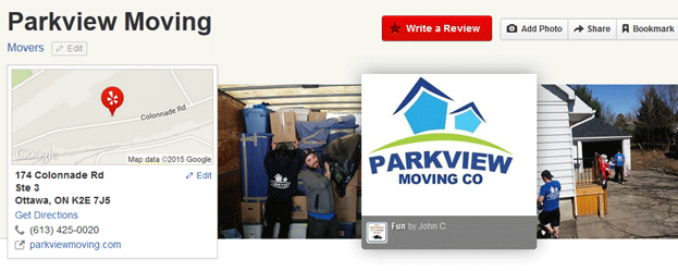 Parkview Moving Location