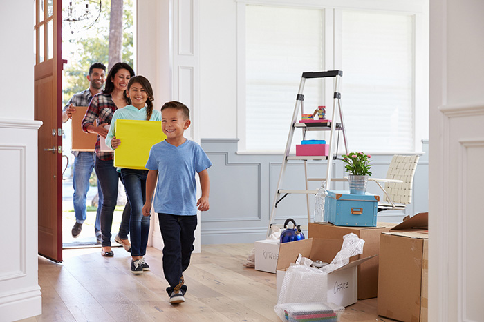 Professional Movers can help you move into your new home