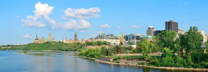 The Ottawa cityscape by the river – Best Moving destination