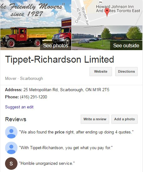 Tippet Richardson- Location