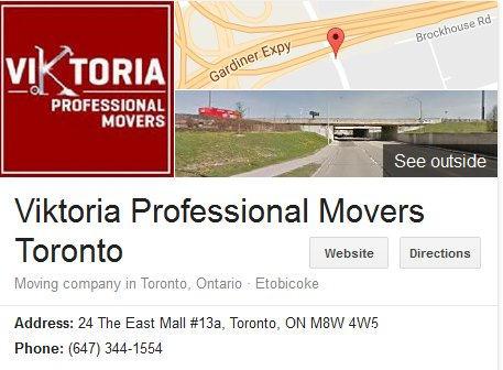 Viktoria Professional Movers – Location