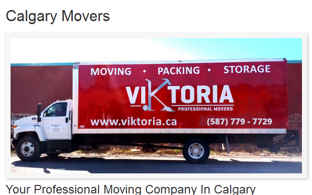 Viktoria Professional Movers – Moving trucks