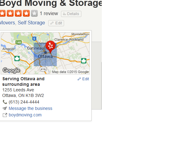 Boyd Moving & Storage - Location
