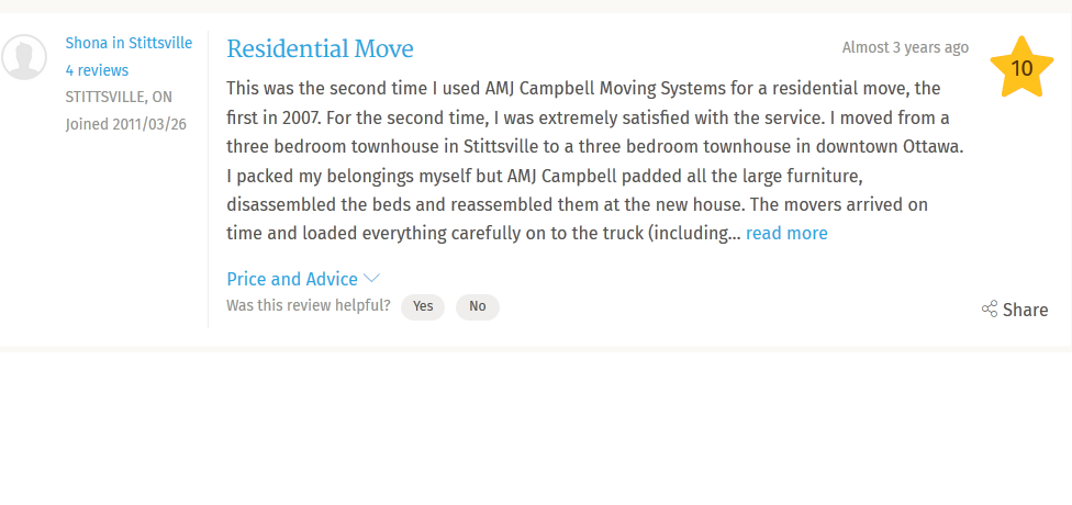 Campbell Moving System – Review