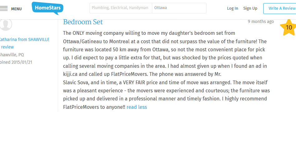 Flat Price Movers – Customer review