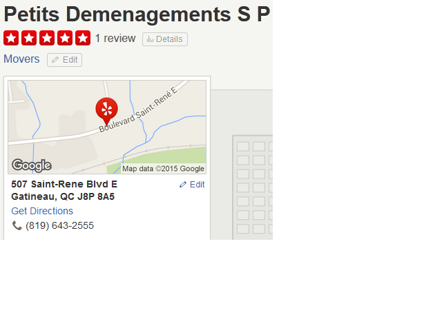 Petits Demenagements SP – Location