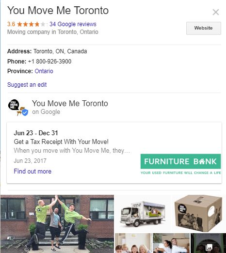 You Move Me Toronto - reviews