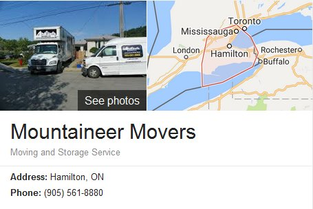 Mountaineer Movers – Location