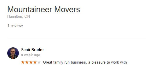 Mountaineer Movers – Moving review