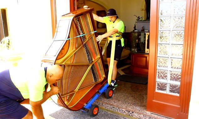 Professional piano movers use the right equipment and trained personnel to move any type of piano