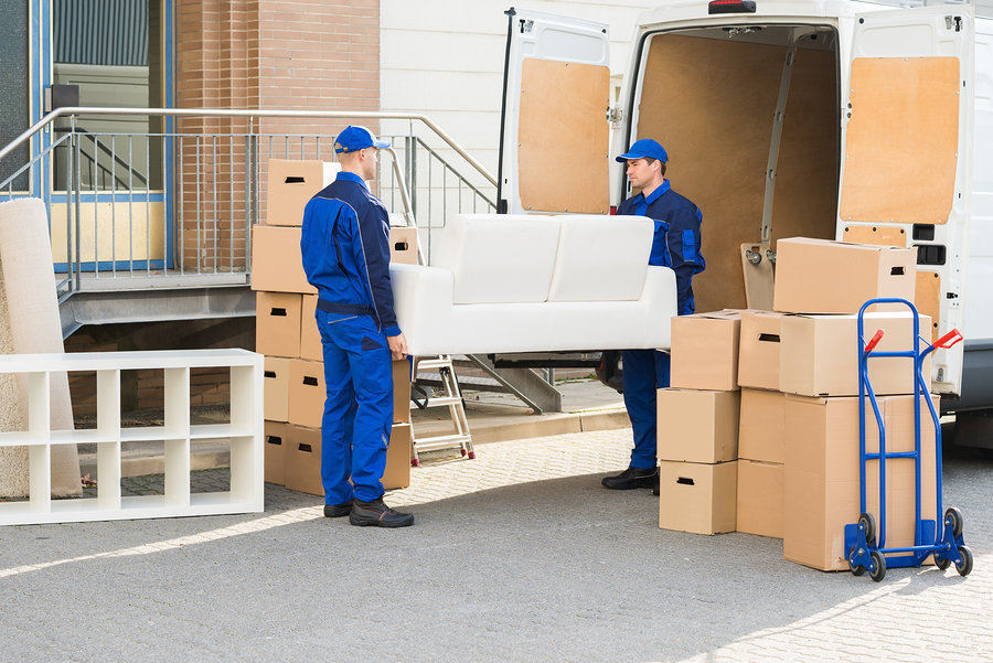 Moving companies provide moving truck, moving labor, and use of moving equipment in affordable packages
