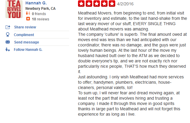 Meathead Movers – Moving company review
