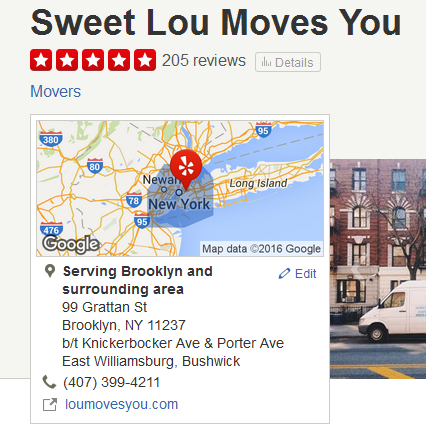 Sweet Lou Moves You – Location