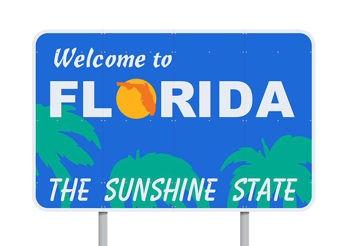 Arriving in Florida – Preparing residency requirements