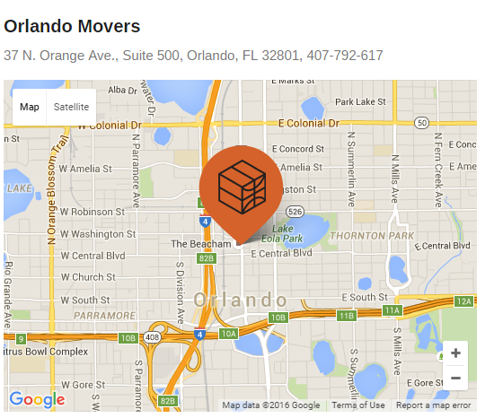 Athletes Movers – Movers' location