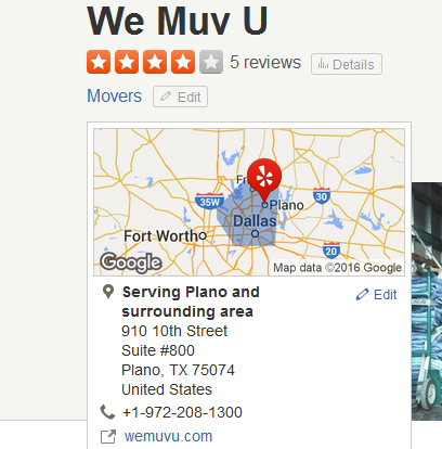 We Muv U – Movers' location