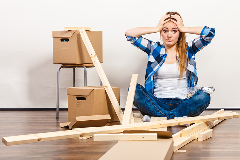 Moving stress and anxiety without professional movers