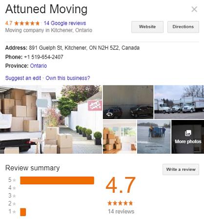 Attuned Moving