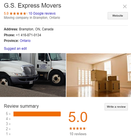 GS Express Movers