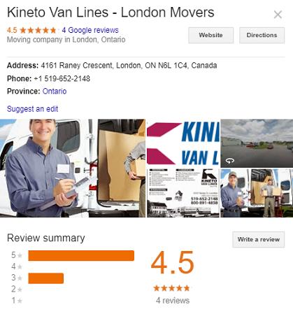 Kineto Van Lines