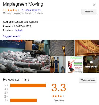 Maplegreen Moving