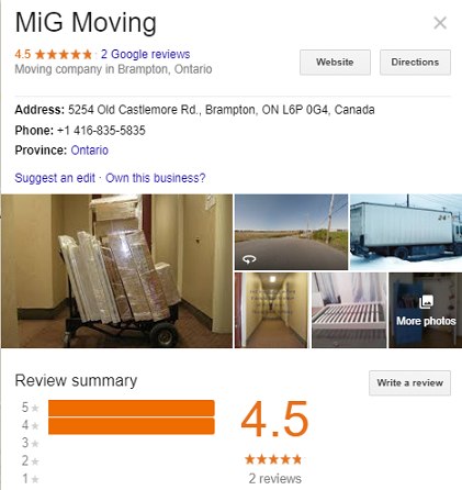 MiG Moving