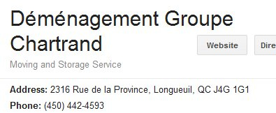 Chartrand Group - Location