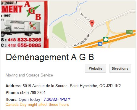 Demenagement AGB – Location