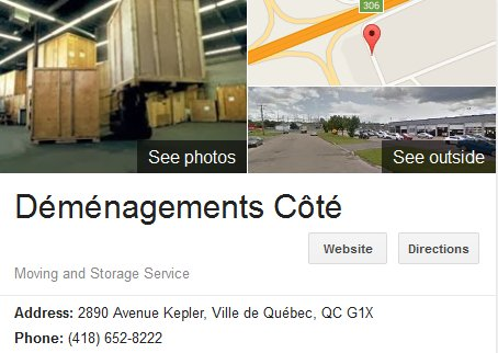 Demenagement Cote – Location