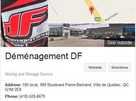 Demenagement DF – Location