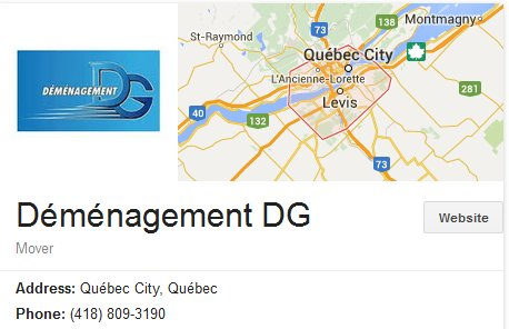 Demenagement DG - Location