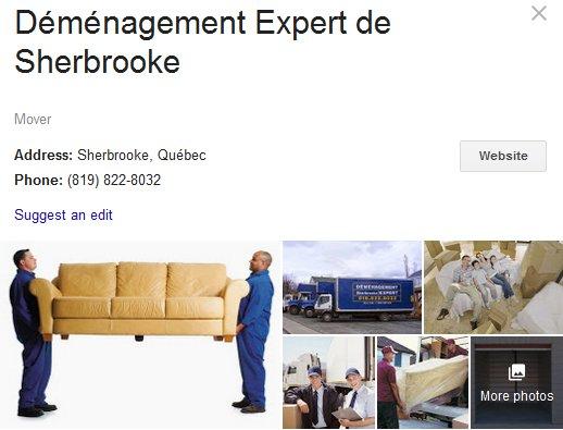Demenagement Expert de Sherbrooke – Location