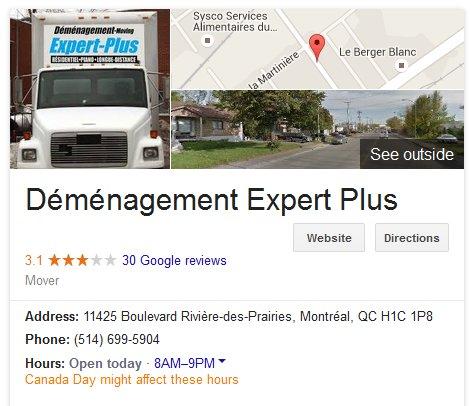 Demenagement Expert Plus – Location