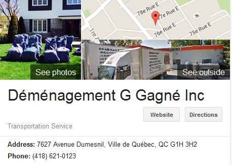 Demenagement G Gagne – Location