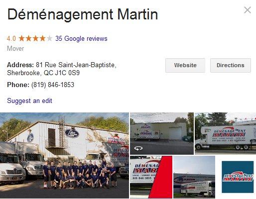 Demenagement Martin - Location