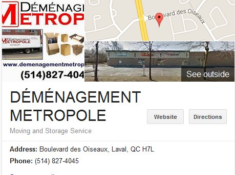 Demenagement Metropole – Location