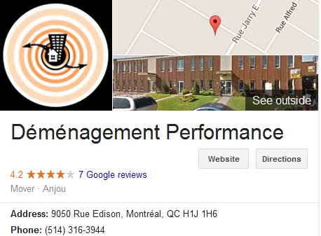 Demenagement Performance – Location