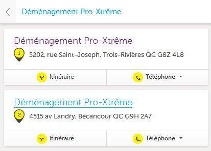 Demenagement Pro-Xtreme – Locations