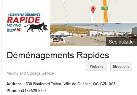 Demenagement Rapides - Location