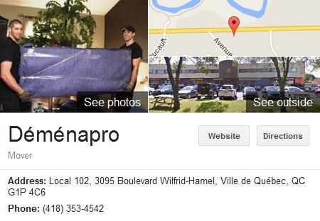 Demenapro – Location