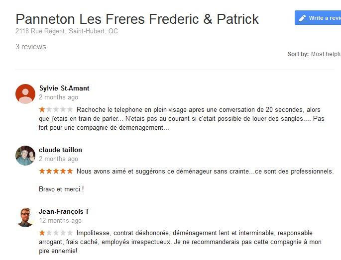 Les Freres Frederic & Patrick Panneton – Moving reviews