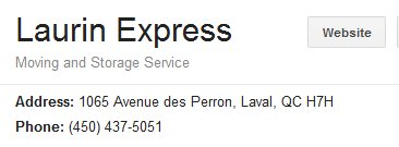 Laurin Express – Location
